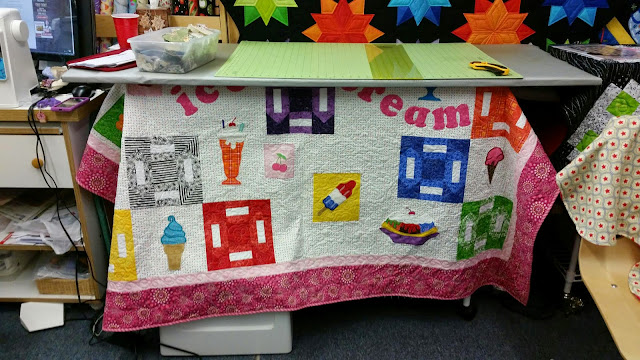 A Quilter's Folly - Ice Cream Quilt