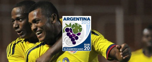Colombia vs. Ecuador - Sudamericano Sub 20 en Vivo - CMD