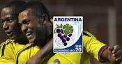 Colombia vs. Ecuador - Sudamericano Sub 20 en Vivo - CMD