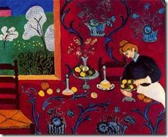 Matisse, armonia en rojo. 1908