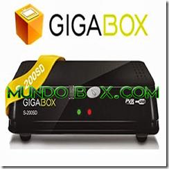 Actualización GIGABOX S-200 SD