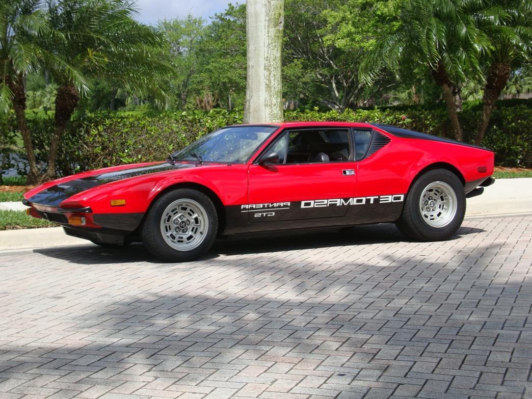 1977 DeTomaso Pantera GTS SOLD