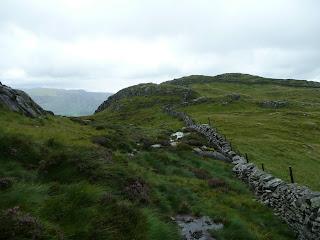 Leaving Eagle Crag