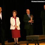 Recoge el premio D. Eulogio Dávalos, Director Artístico del Certamen LLobet de Barcelona
