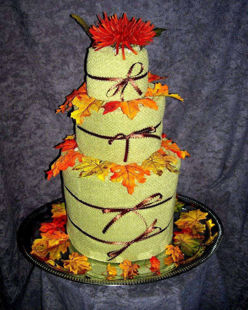 Autumn Wedding Cake by