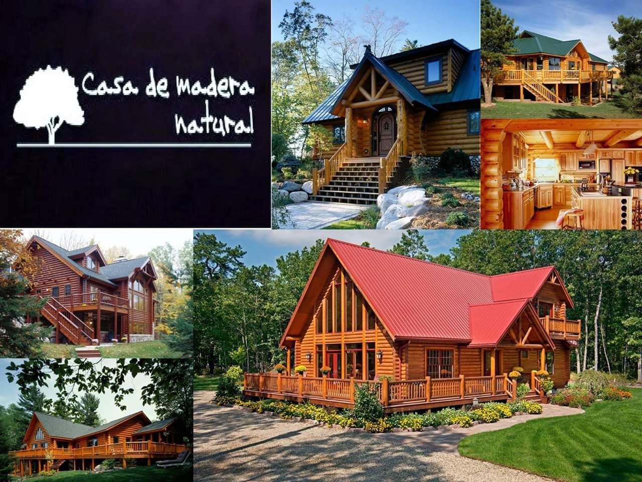 Casas de madera natural ahora es el momento - Casas de madera natural ...