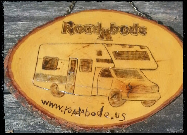 RoadAbode Camp Sign
