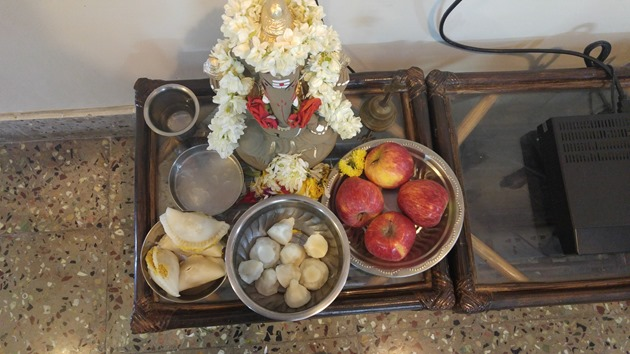 Kozhattai offerings to Lord Ganesha during Ganesha Habba