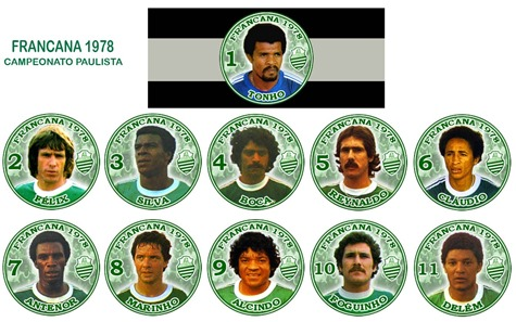 244 - Francana 1978 - Campeonato Paulista