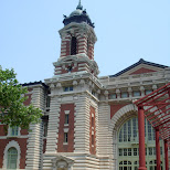 ellis island in New York City, New York, United States