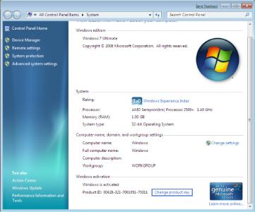 how to change windows xp product key without reinstalling