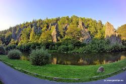 Od roku 1933 je skalní útvar národní přírodní památkou. Územím prochází 12 km dlouhá naučná stezka  a je zde rovněž horolezecká škola.