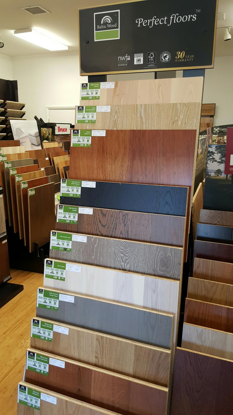 Baltic Wood 5 Plank Natural Regency Collection Nj New Jersey