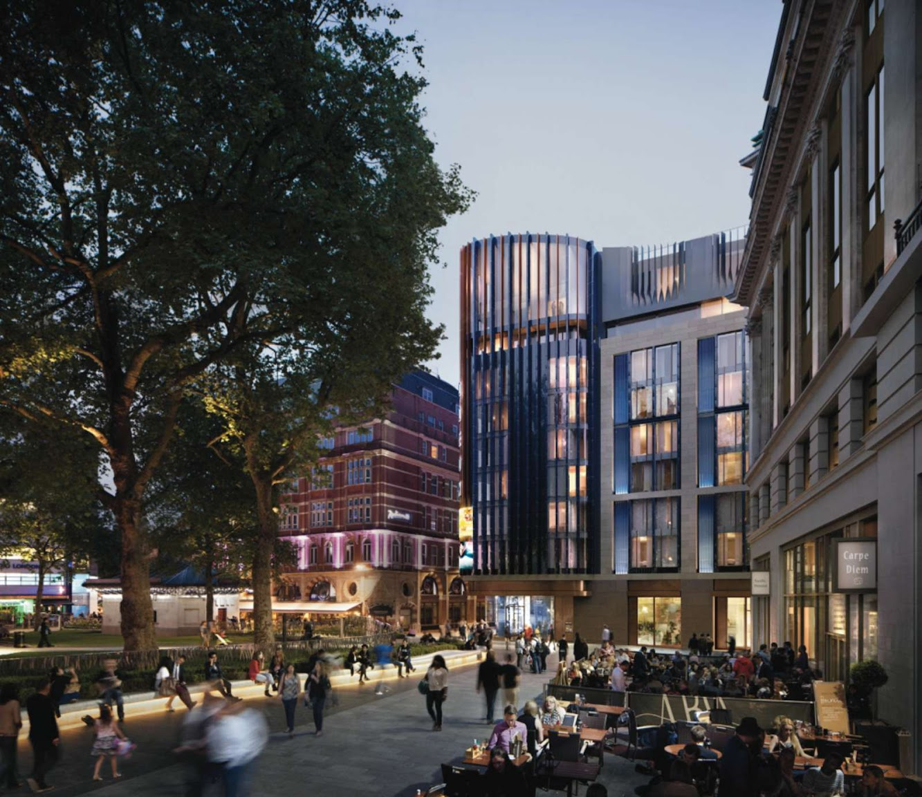 News: HOTEL PLANS in LONDON'S LEICESTER SQUARE by WOODS BAGOT