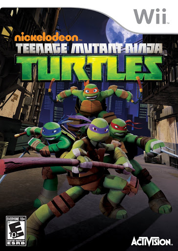 [GAMES] Teenage Mutant Ninja Turtles PROPER (Wii/PAL/MULTi5)