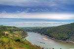 hoch über dem Rhein