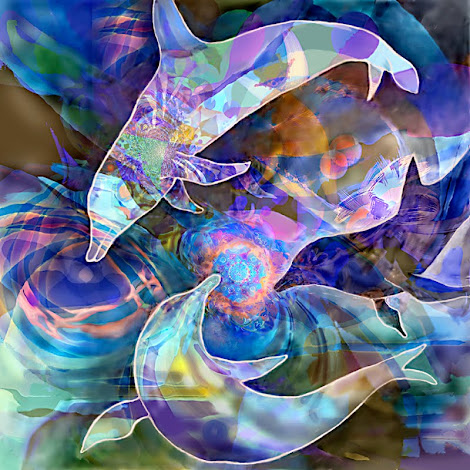 """The """"Three Dolphins"""" piece from the """"1998"""" collection"""