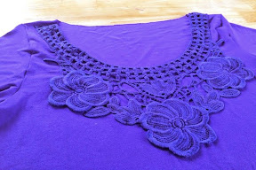 Plantain Top with Embroidered Yoke