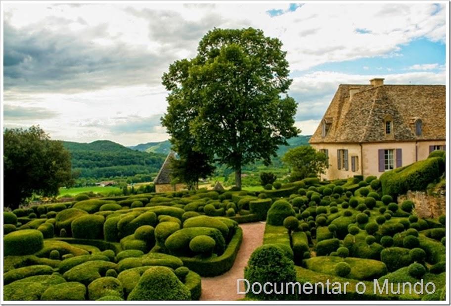 Jardins suspensos de Marqueyssac
