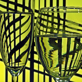 glasses by Bojan Dobrovodski - Abstract Patterns