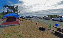 South Beach Campground, Olympic National Park