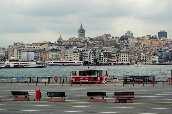 стамбул набережная панорама