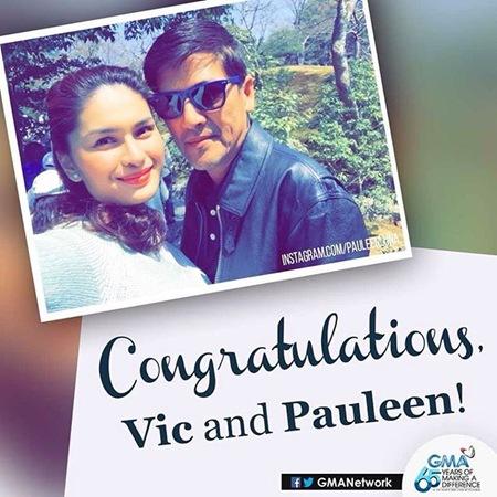 Vic and Pauleen