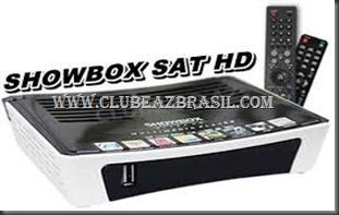 ATUALIZAÇÃO PARA SHOWBOX SAT HD TCOM CONTROLE MINI