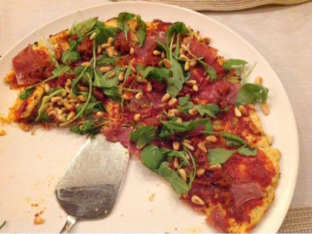 Milcheiweißfreie Pizza