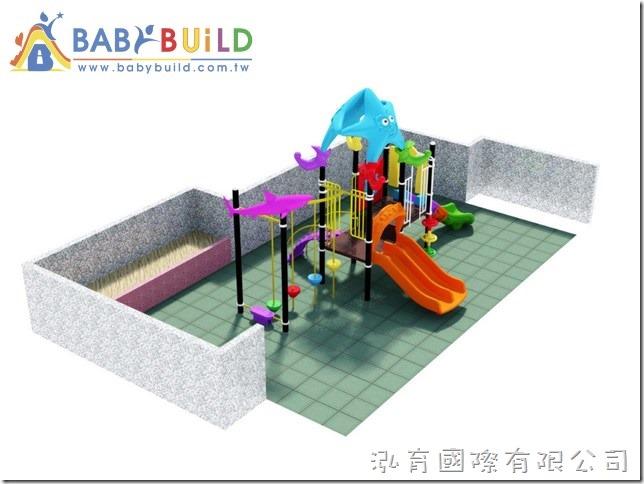 BabyBuild 海洋風格組合遊具
