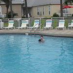 Jeff and Bryan in the pool in Destin FL 03182012a