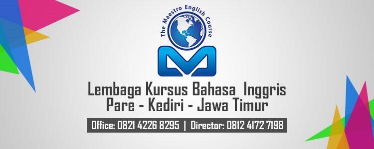 Lembaga-Kursus-Bahasa-Inggris-Pare-Kediri-Maestro-Course