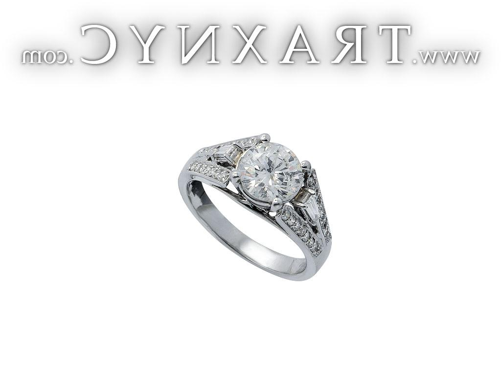 Full Size Picture for White Gold Diamond Wedding Ring
