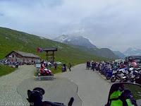 Kurz hinter Scheitelhöhe des Colle del Nivolet das Rifugio Savoia.