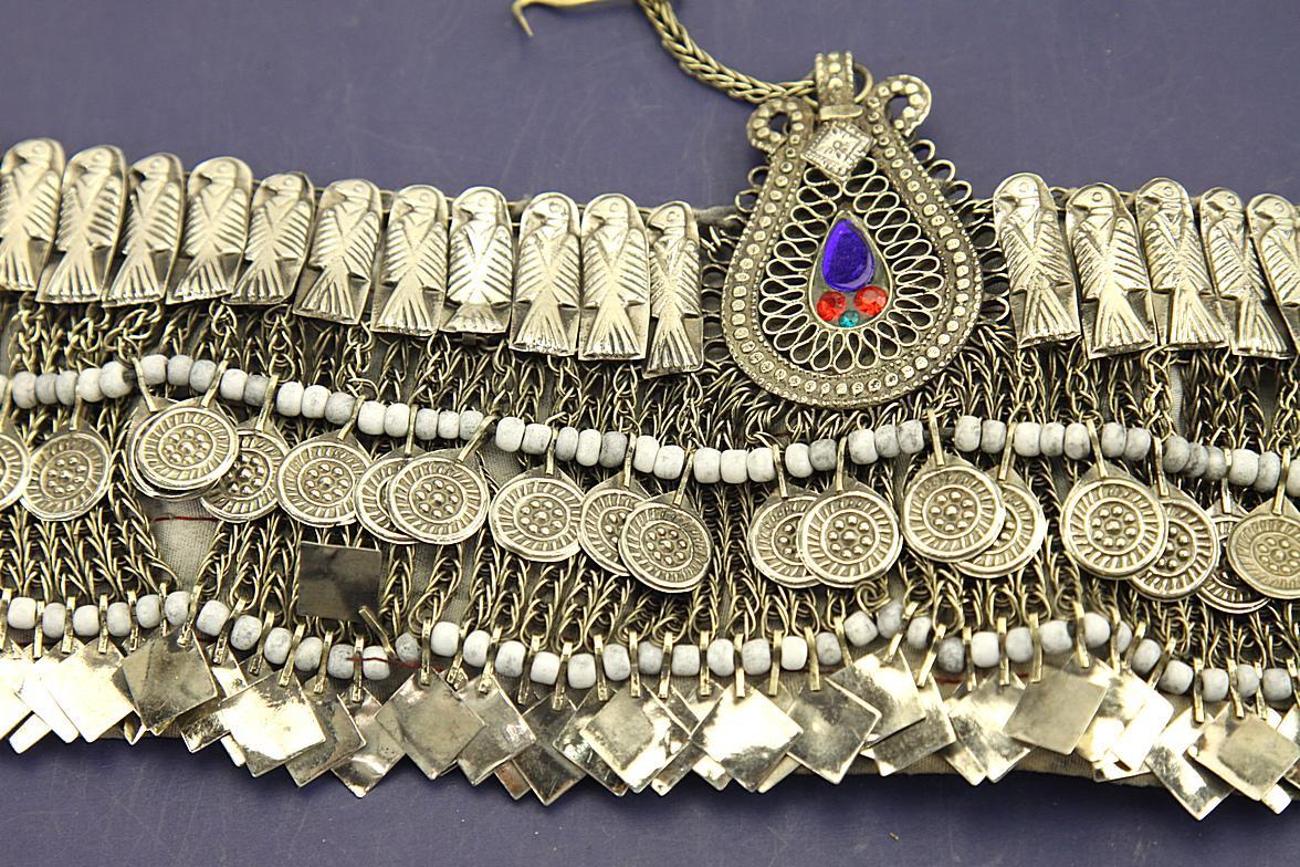 Authentic Hazara Tribal Wedding HEADPIECE One of a Kind - 843b4
