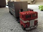 Optimus in truck form