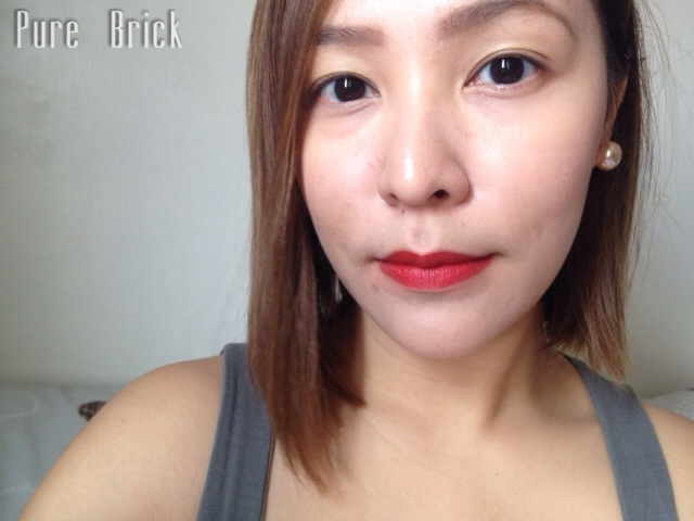 L'Oreal Paris Star Collection Matte Reds in Pure Brick