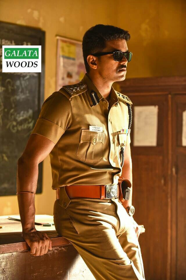 Vijay in Police Getup with Nayanthara for 59th Film