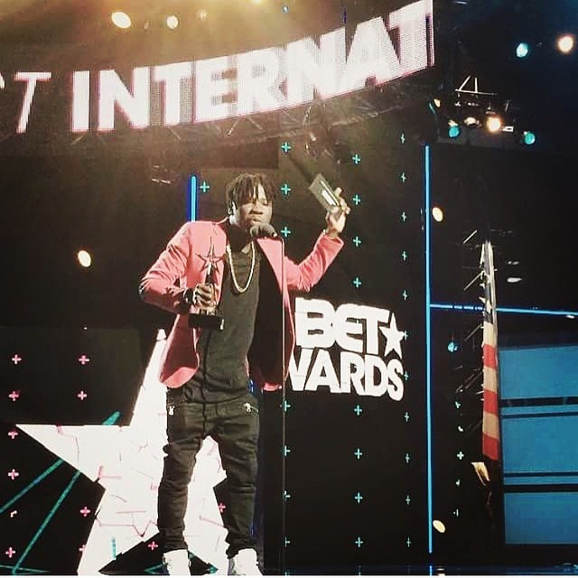 Ghanaian Stonebwoy Has Won BET 2015 Best African Act Awards!