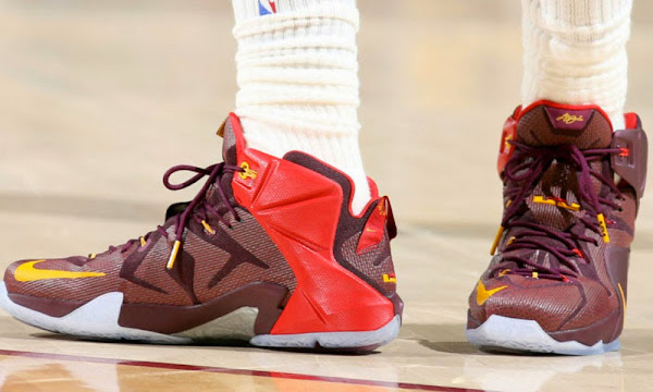 Closer Look at King James8217 Nike LeBron 12 8220Double Helix PE8221