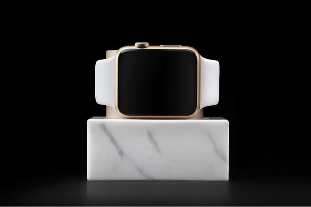 The World's First Real Marble Dock for Apple Watch from Native Union