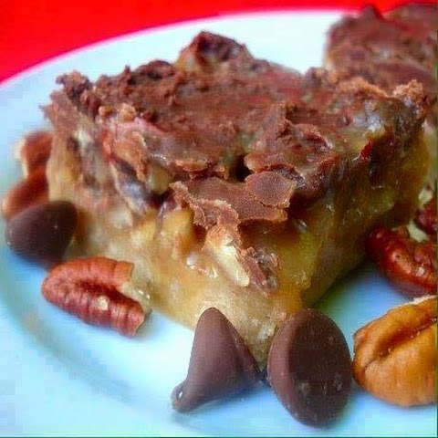 Caramel Butter Pecan Bars