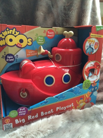 Twirly Woos Big Red Boat Playset