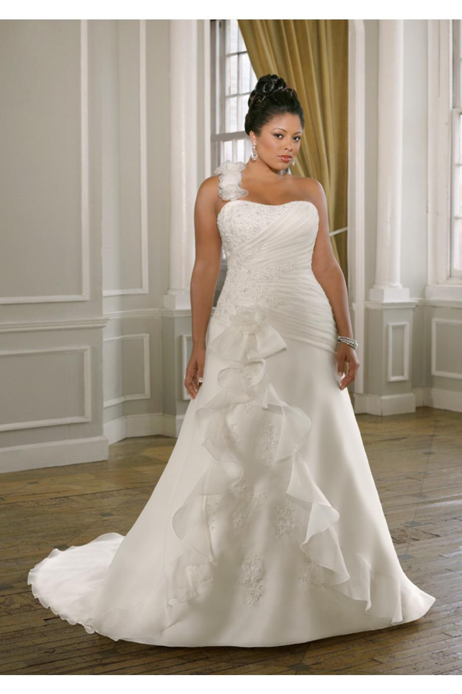 3097 Organza Wedding Dress