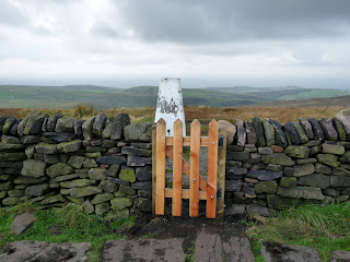 "The new ""gate"" at Shining Tor"