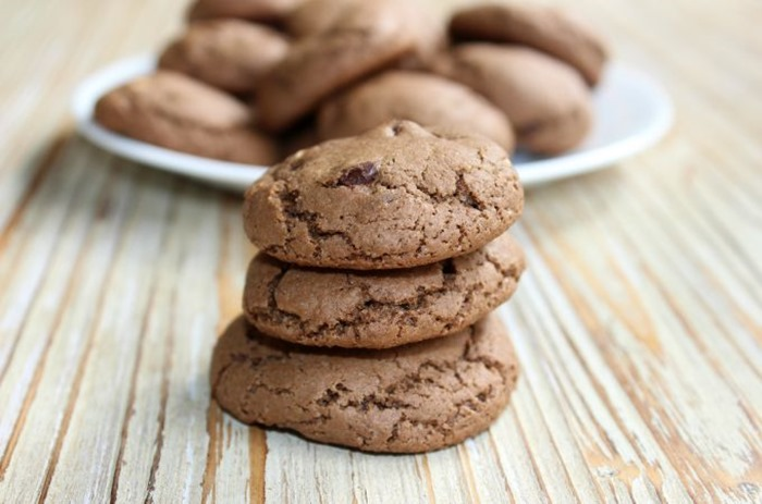 Chocolate-Cocoa-Peanut-Butter-Cookies