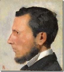 Paul Albert-BESNARD-PortraitofaYoungManinProfile-6112014T143052