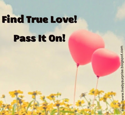 Find True Love!  Pass it On!! (Guest Post at 4TheLoveofMommy)