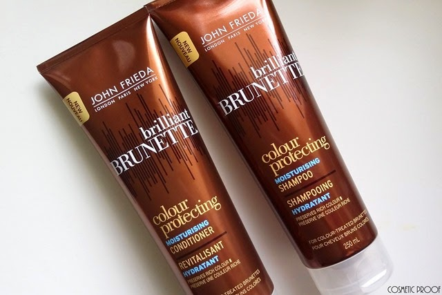John Frieda Brilliant Brunette Colour Protecting Shampoo and Conditioner