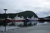 De haven van Alesund, achter ons hotel.
